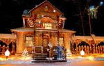 На снимках: В беловежском поместье Деда Мороза. Фото Романа Кобяка, БелТА.